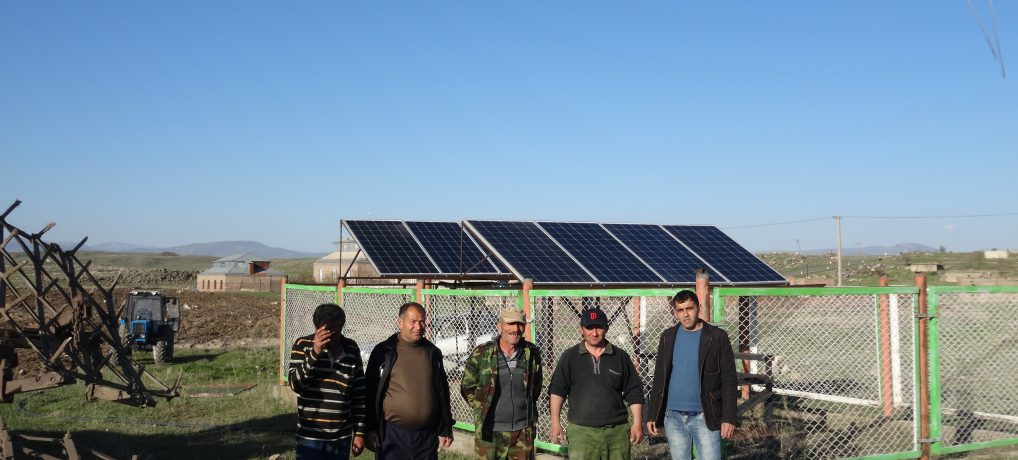 Gusanagyugh community – Solar pump