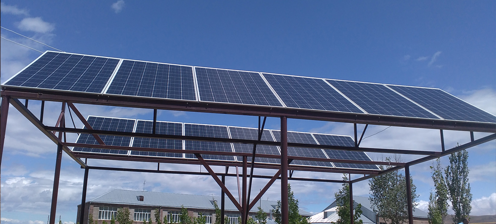 Jrapi community – Solar photoelectric station